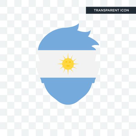 Argentina icon isolated on transparent background