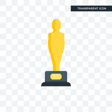 Oscar  icon isolated on transparent background Illustration