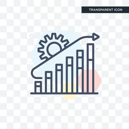 Development icon isolated on transparent background