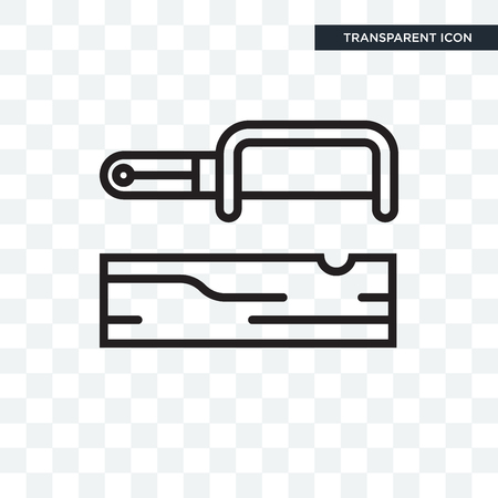 Carpentry  icon isolated on transparent background, Carpentry icon concept