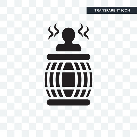 Hot tub icon isolated on transparent background