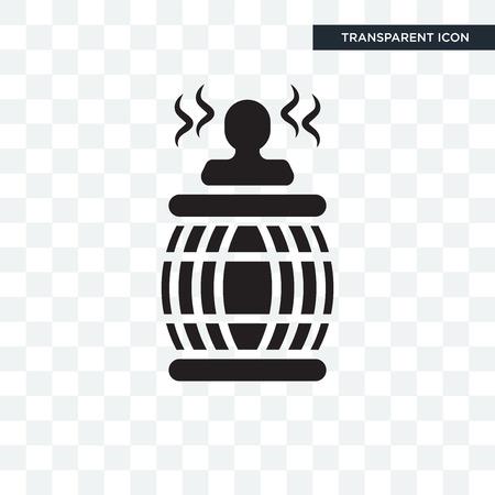 Whirlpool-Symbol lokalisiert auf transparentem Hintergrund Vektorgrafik