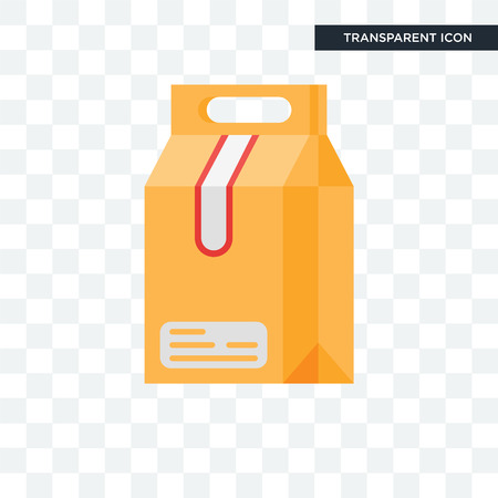 Take away icon isolated on transparent background