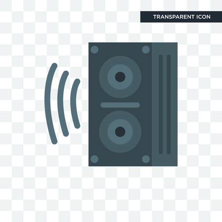 Speaker  illustration isolated on transparent background