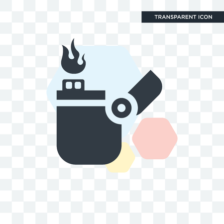 Lighter illustration isolated on transparent background