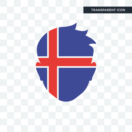 Iceland   icon isolated on transparent background