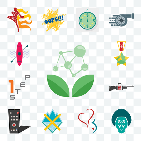 Set Of 13 transparent editable icons such as antioxidant, baboon, gynecology, crossed skis, tv remote, gun shop, step 1, veteran, kayak, web ui icon pack