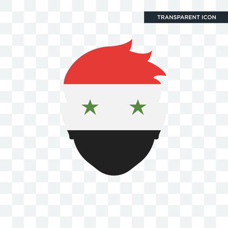 Syria illustration icon isolated on transparent background
