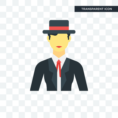 Spanish man concept illustration icon  isolated on transparent background