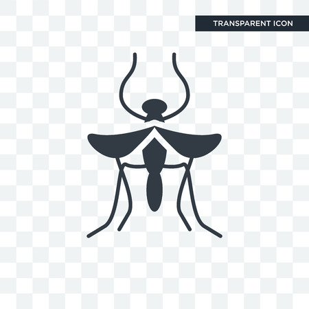 Mosquito   icon isolated on transparent background
