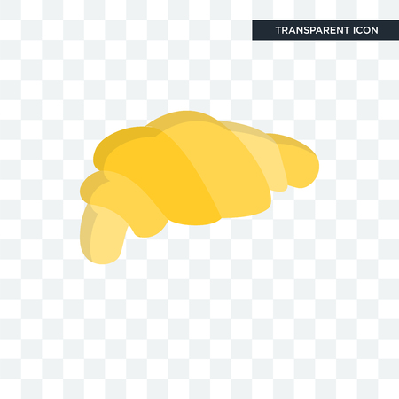 Bakery vector icon isolated on transparent background, Bakery logo concept