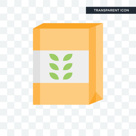 Cereal concept icon isolated on transparent background Vecteurs