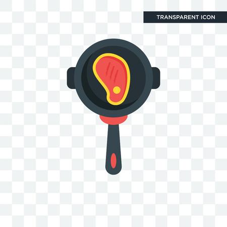 Kochkonzeptillustrationsikone lokalisiert auf transparentem Hintergrund