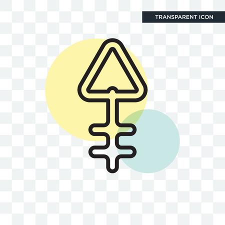 Phosphorus concept illustration icon isolated on transparent background