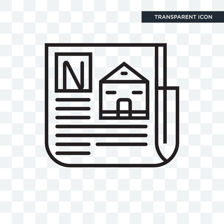 Newspaper concept illustration icon isolated on transparent background