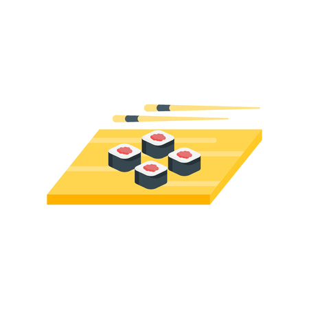 Sushi icon vector isolated on white background for your web and mobile app design