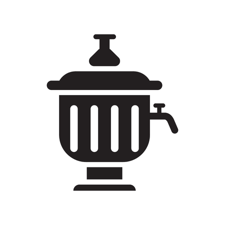 Samovar icon vector isolated on white background for your web and mobile app design, Samovar logo concept Illustration