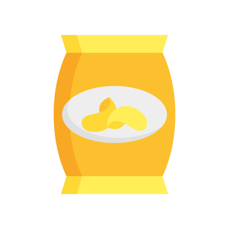 Snack icon vector isolated on white background for your web and mobile app design