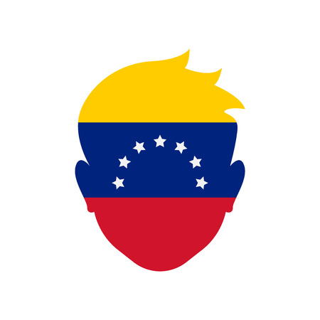 Venezuela icon vector isolated on white background for your web and mobile app design