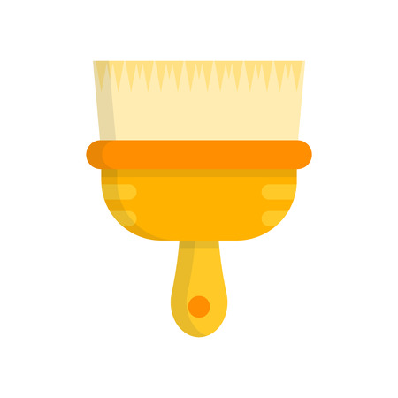 Paint brush icon vector isolated on white background for your web and mobile app design Çizim