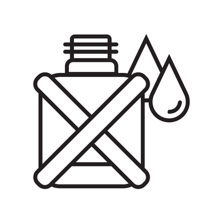 Canteen icon vector isolated on white background for your web and mobile app design, Canteen logo concept