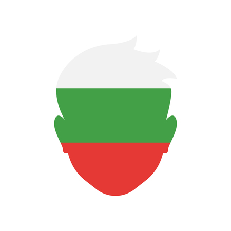 Bulgaria icon vector isolated on white background for your web and mobile app design, Bulgaria logo concept