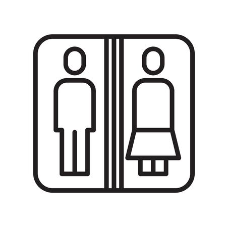 Vector icono de aseo aislado sobre fondo blanco para su diseño web y aplicaciones móviles