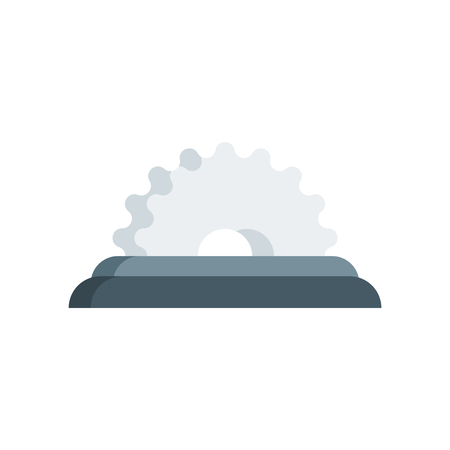 Saw icon vector isolated on white background for your web and mobile app design