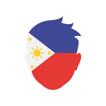 Philippines icon vector isolated on white background for your web and mobile app design Illustration