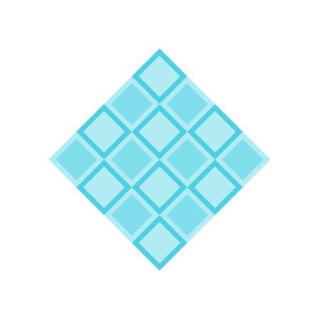 Vector icono de azulejos aislado sobre fondo blanco para su diseño web y aplicaciones móviles