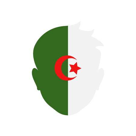 Algeria icon vector isolated on white background for your web and mobile app design