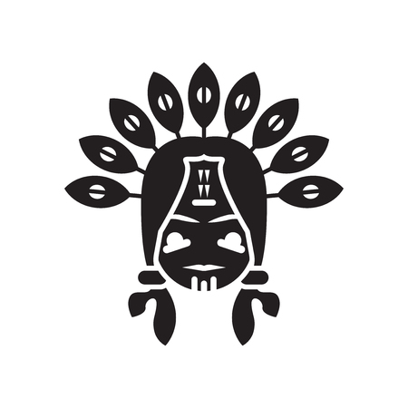 Indian icon vector isolated on white background for your web and mobile app design, Indian logo concept 스톡 콘텐츠 - 106942815