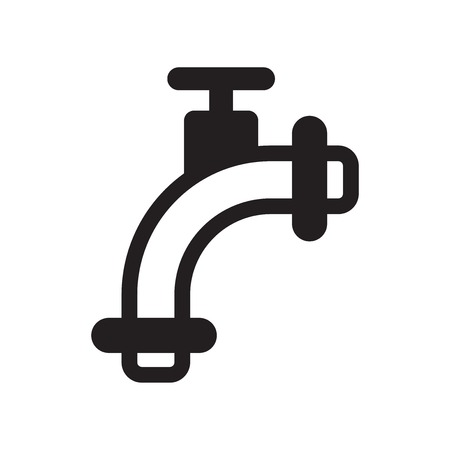 Pipes icon vector isolated on white background for your web and mobile app design, Pipes logo concept Illustration