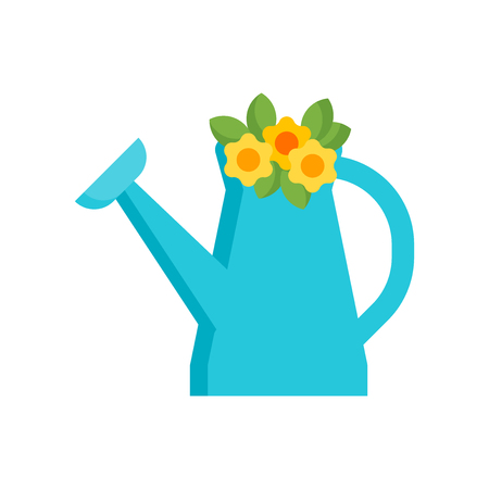 Watering can icon vector isolated on white background for your web and mobile app design, Watering can logo concept