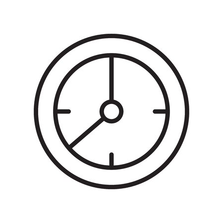 Timelapse icon vector isolated on white background for your web and mobile app design, Timelapse logo concept 일러스트