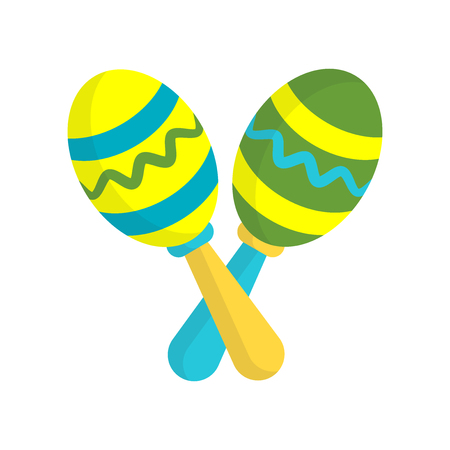 Maracas icon vector isolated on white background for your web and mobile app design, Maracas logo concept