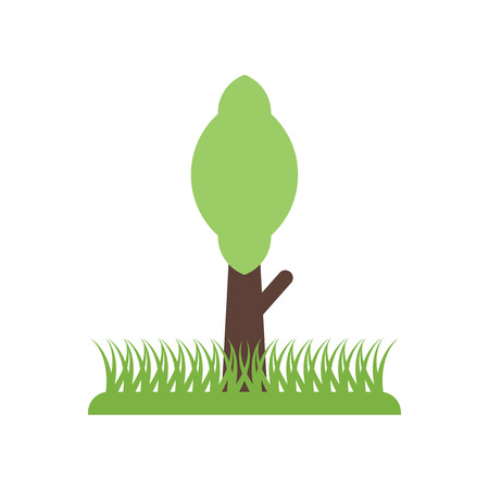 tree icon vector isolated on white background for your web and mobile app design, tree logo concept