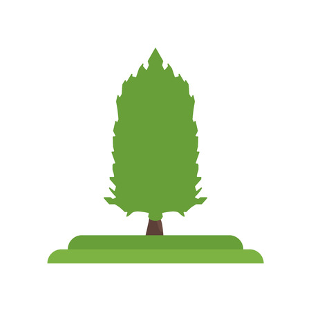 American Larch tree icon vector isolated on white background for your web and mobile app design, American Larch tree logo concept