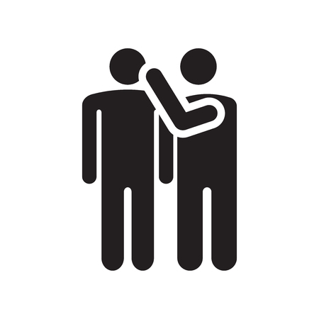 Vecteur d'icône de potins isolé sur fond blanc pour la conception de votre application web et mobile, concept de logo de potins Logo