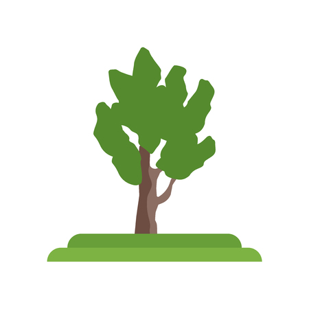 Eastern Cottonwood tree icon vector isolated on white background for your web and mobile app design, Eastern Cottonwood tree logo concept