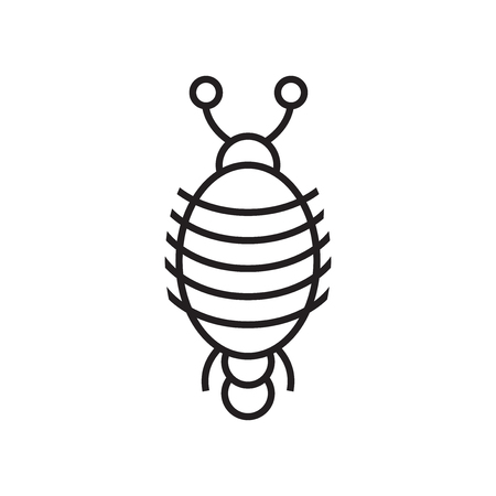 Arthropod icon vector isolated on white background for your web and mobile app design, Arthropod logo concept