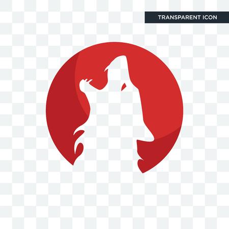 kurt vector icon isolated on transparent background