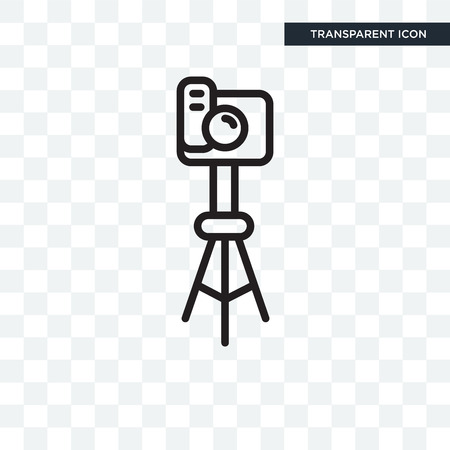 Photograph vector icon isolated on transparent background, Photograph logo concept Illustration