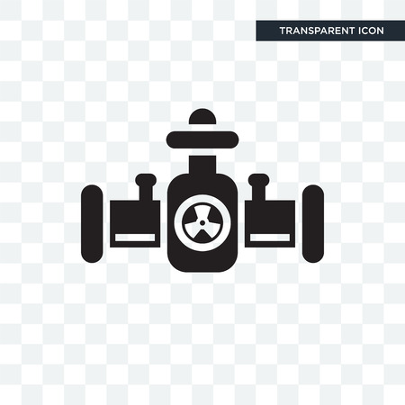Pipes vector icon isolated on transparent background, Pipes logo concept