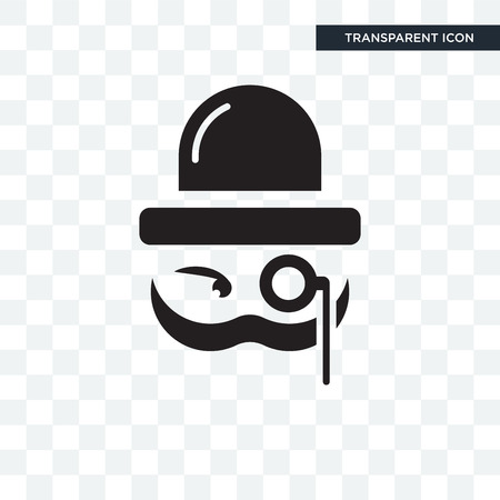 Sir vector icon isolated on transparent background, Sir logo concept