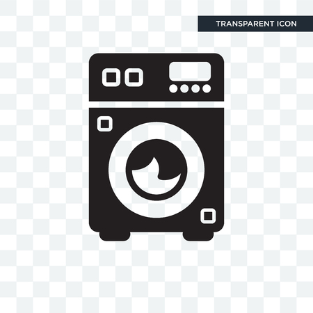 Cleaned vector icon isolated on transparent background, Cleaned logo concept Logó