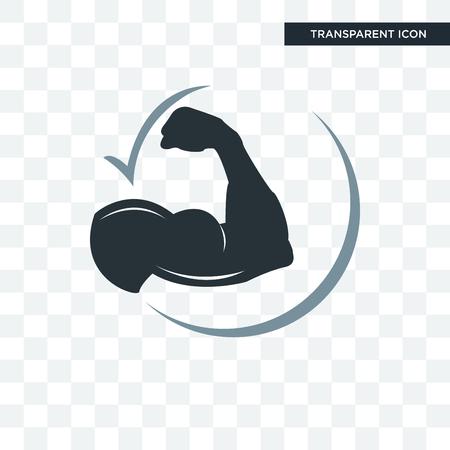 dauerhafte Vektorikone lokalisiert auf transparentem Hintergrund, dauerhaftes Logo-Konzept Logo