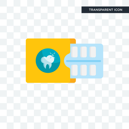 Gum vector icon isolated on transparent background, Gum logo concept