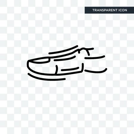 Icona di vettore di dito umano isolato su sfondo trasparente, concetto di marchio di punta umana