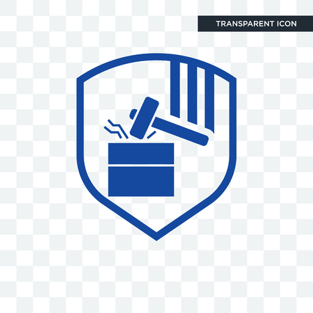 durability vector icon isolated on transparent background, durability logo concept Çizim